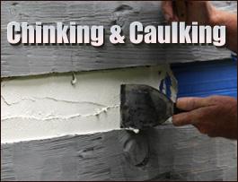 Chinking And Caulking  Athens County, Ohio