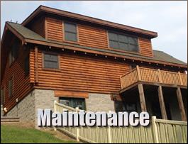 Log Home Maintenance  Athens County, Ohio