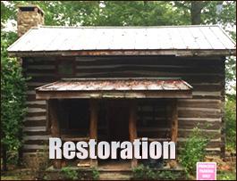 Log Cabin Restoration  Athens County, Ohio